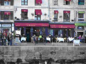 Honfleur Sidewalk Cafes